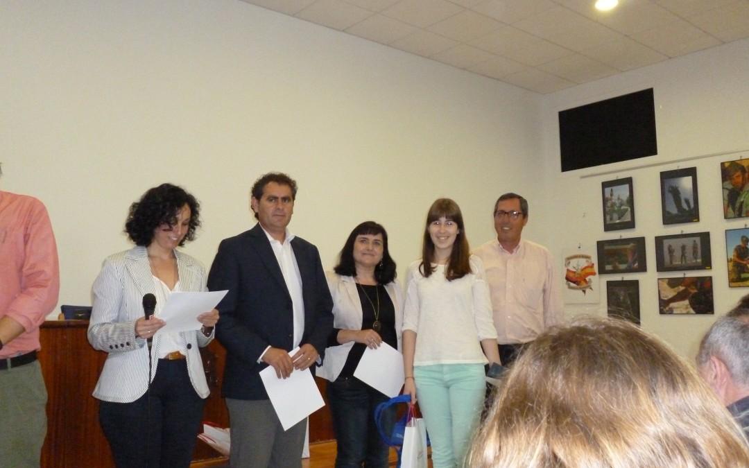 Alumna del IES Maestro Padilla seleccionada en la Fase Provincial de la Olimpiada Thales de Matemáticas.