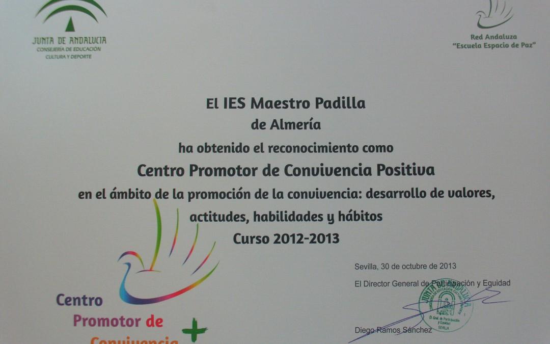IES Maestro Padilla: Centro Promotor de Conviencia+