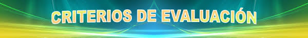 CRITERIOS DE EVALUACIÓN. Departamento de Educación Plástica y Visual