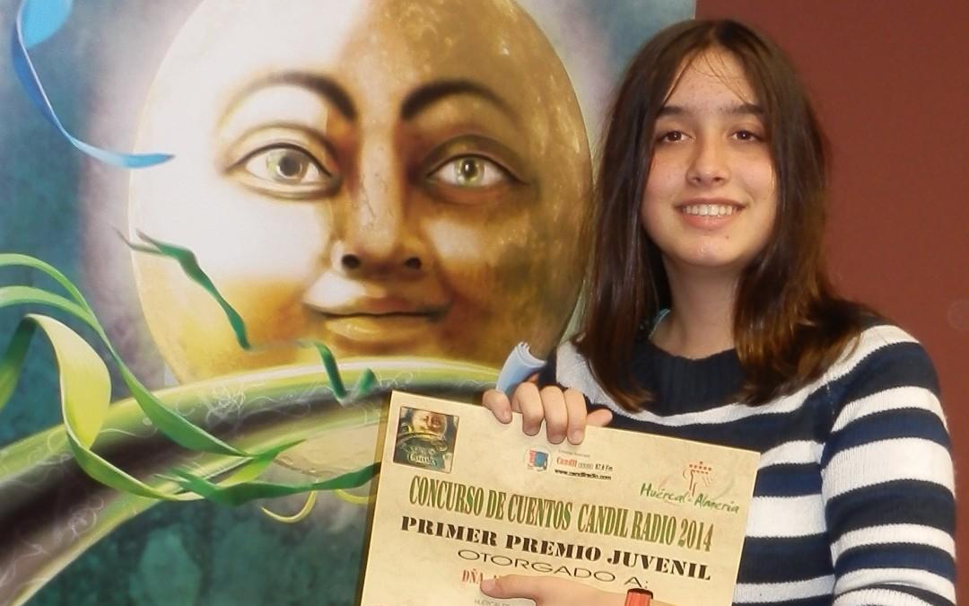 Alicia Quintas gana primer premio de certamen de relatos de Candil Radio