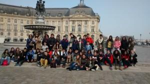 Bordeaux groupe La Bourse