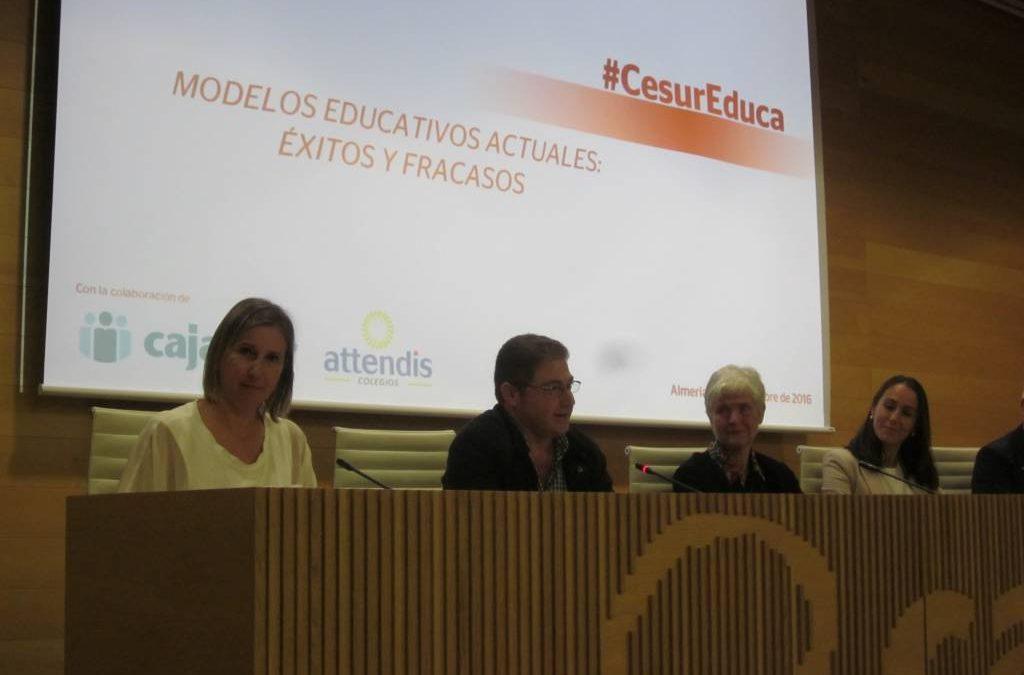 CHARLA SOBRE LOS MODELOS EDUCATIVOS ACTUALES: ÉXITOS Y FRACASOS