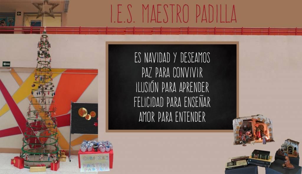 El IES Maestro Padilla les desea una FELIZ NAVIDAD y un FELIZ 2017