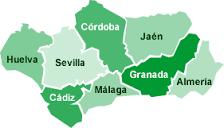 Enlaces a las páginas web de Andalucía creadas por los alumnos de 2º Bachillerato