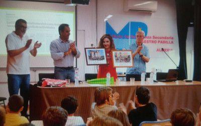 La Escuela Deprtiva Municipal  de Montañismo clausura su temporada en el IES Maestro padilla