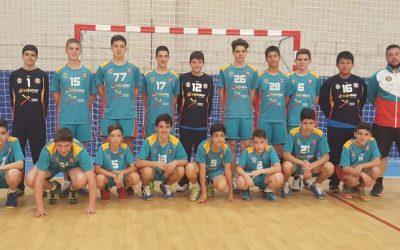 El Cajamar CD Urci Almería A conquistó la medalla de oro del Campeonato de Andalucía Infantil masculino