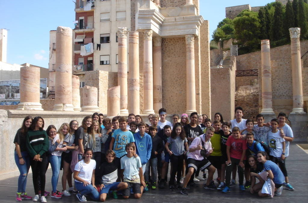 Visita a Cartagena con 2º ESO