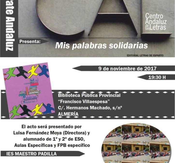 Presentación del TALLER DE POESÍA en la Biblioteca Villaespesa
