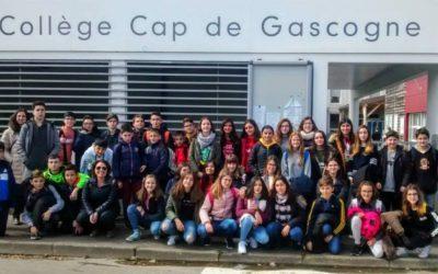 Intercambio Escolar con el Collège Cap de Gascogne de Saint Sever (Francia)