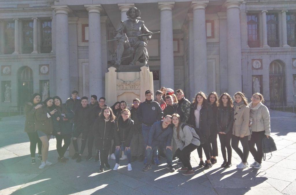 VIAJE CULTURAL A MADRID CON EL ALUMNADO DE 4º E.S.O.