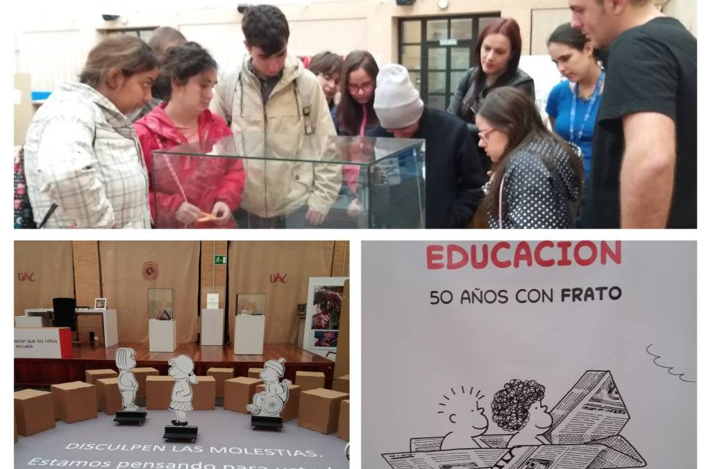 """Visitamos la exposición """"IMAGINAR LA EDUCACIÓN"""""""