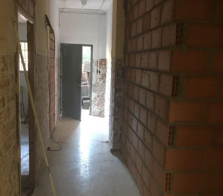 Obras de mejora y optimización de espacios en el IES Maestro Padilla