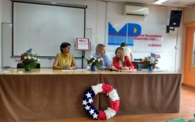 Visita del Agregado Cultural de la Embajada de Estados Unidos