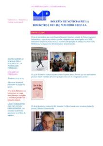 3BOLETÍN DE NOTICIAS DE LA BIBLIOTECA DEL IES MAESTRO PADILLA copia-1