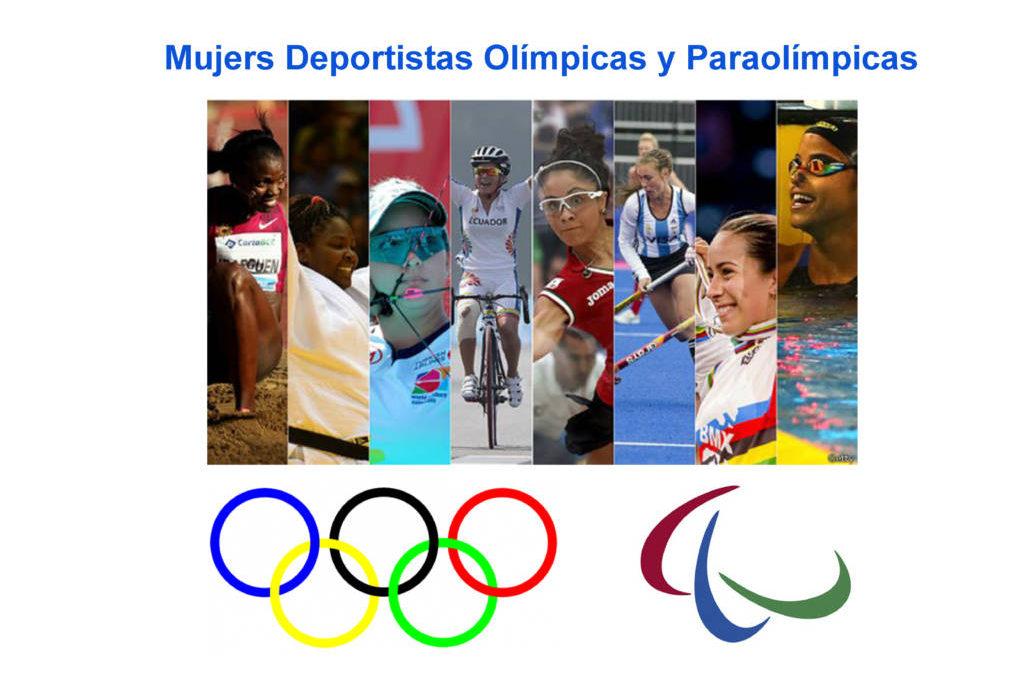 Trabajo del bilingüe para 1º ESO en Educación Física «Mujeres Deportistas Olímpicas»