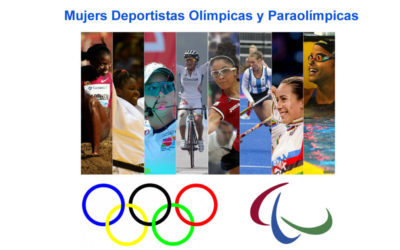 """Trabajo del bilingüe para 1º ESO en Educación Física """"Mujeres Deportistas Olímpicas"""""""
