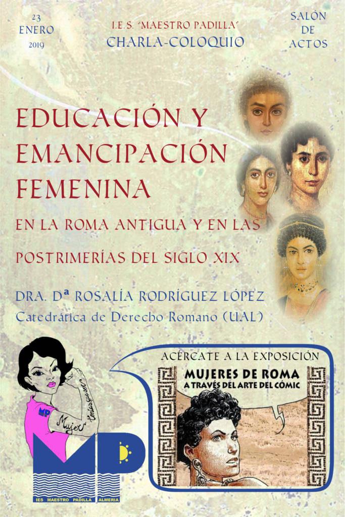 Conferencia Rosalía