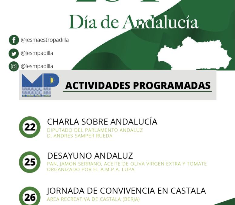 Celebración del día de Andalucía 2019