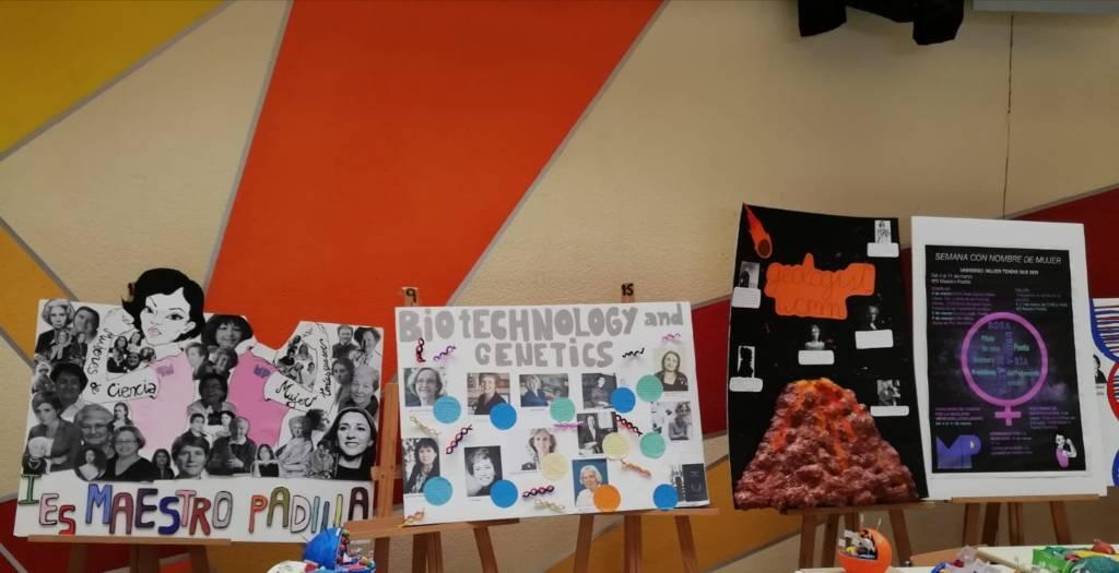 Grandes mujeres en distintos campos de la Ciencia. Biografías vivas.