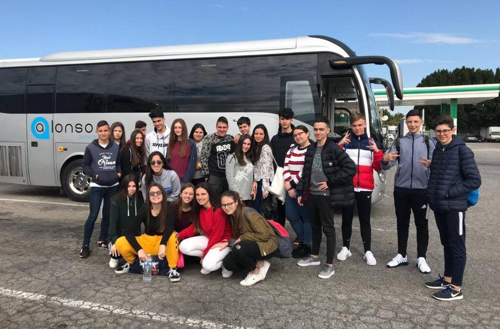 El alumnado de 1° de Bachillerato viaja a Italia