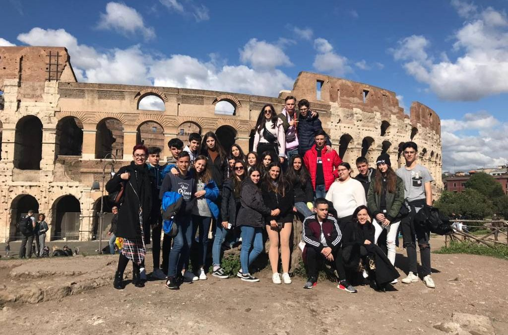 1° Bachillerato visita Roma