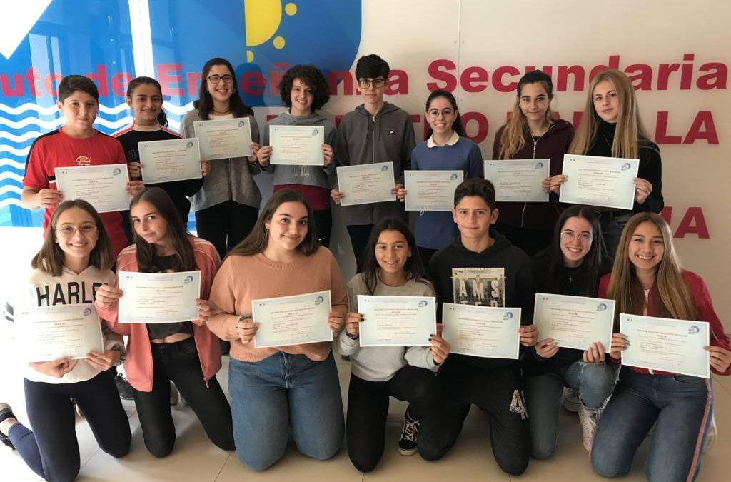 Diplomas DELF Scolaire