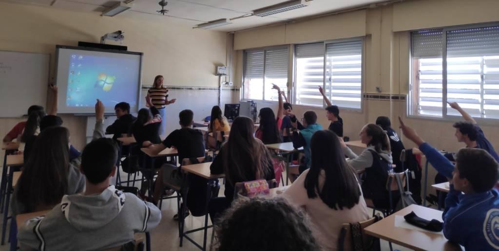 Auxiliar de conversación de inglés en el IES Maestro Padilla.