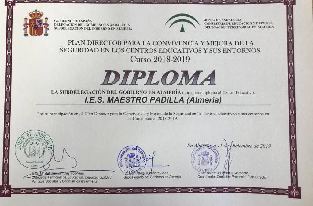 Diploma del Plan Director