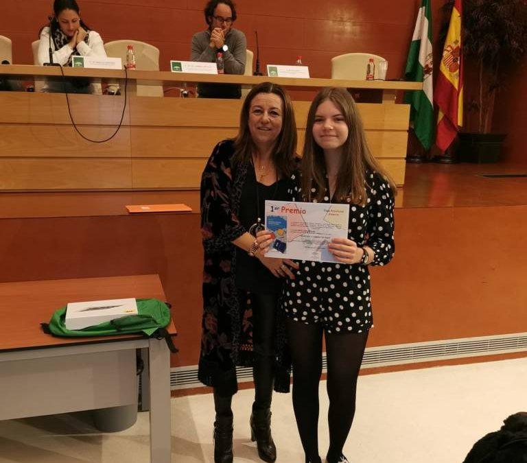 """Primer premio del Certamen Literario """"Solidaridad en Letras"""""""