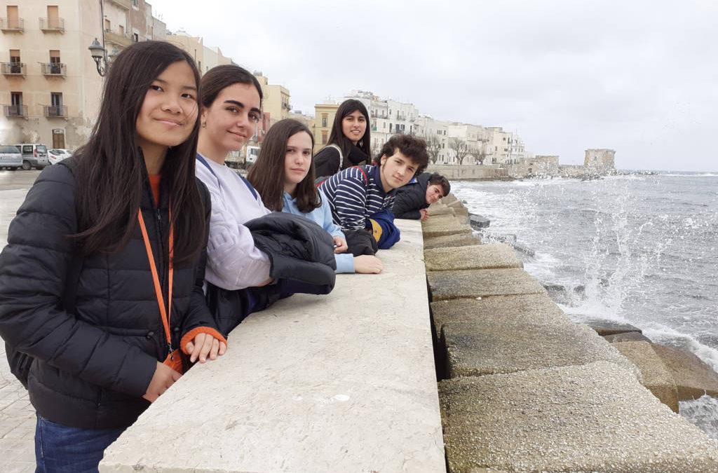 Erasmus +, volvimos de Trapani, Sicilia