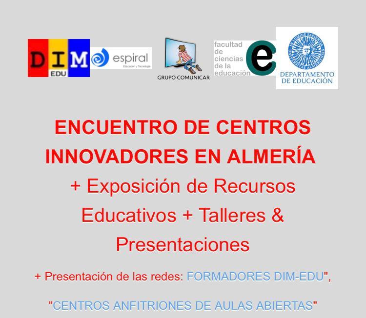 Encuentro de centros innovadores en Andalucía