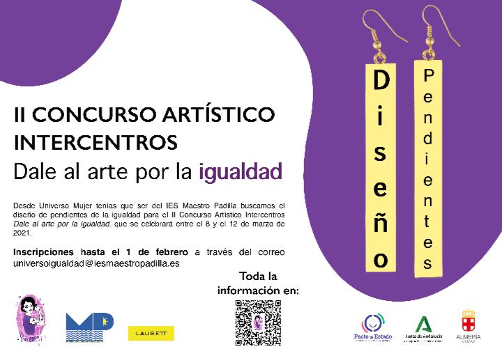 II Concurso Intercentros » DALE AL ARTE POR LA IGUALDAD»