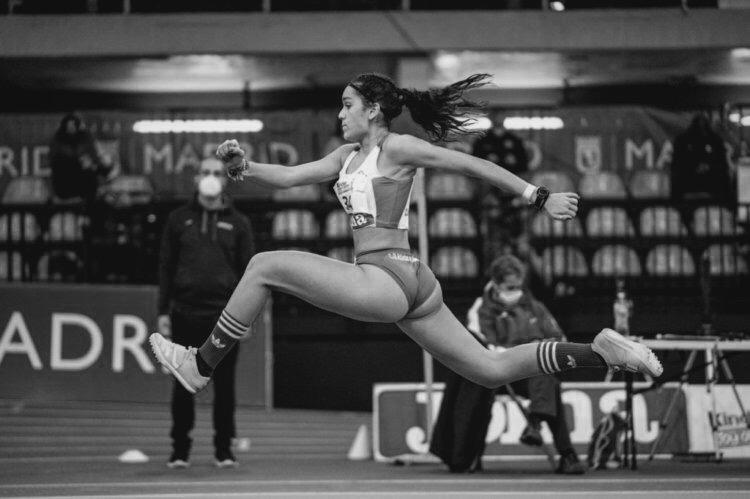 Marta Sebastián Cruz campeona de Andalucía de Triple Salto