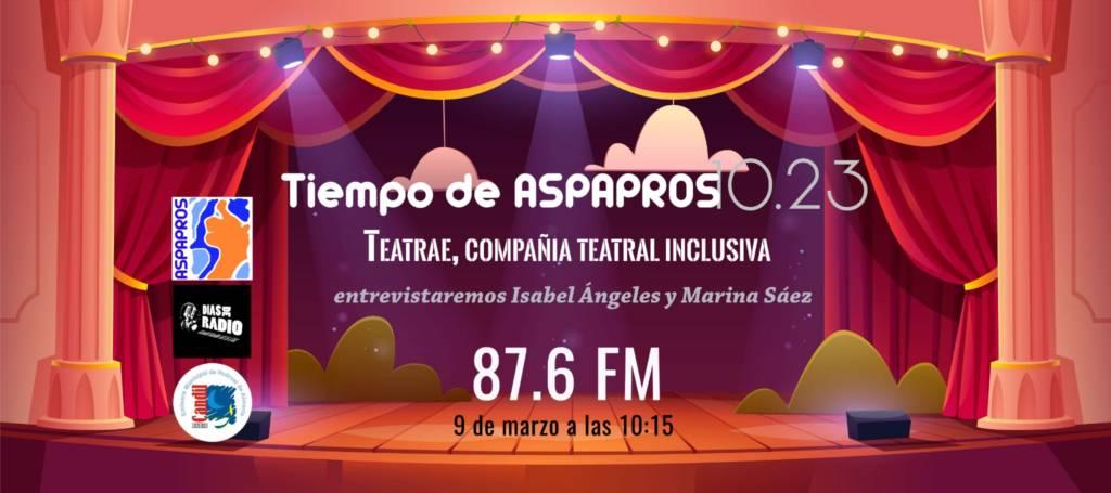 ENTREVISTA DE NUESTRA COMPAÑÍA TEATRAL EN CANDIL RADIO