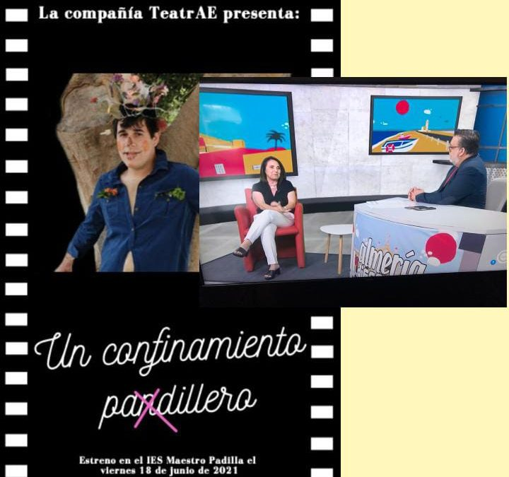 LA DIRECTORA DE NUESTRA COMPAÑÍA TEATRAE EN INTERALMERÍA